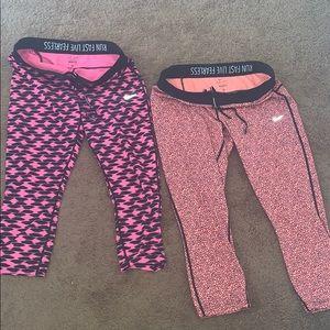 XL bundle Nike Capri leggings. Make me an offer!
